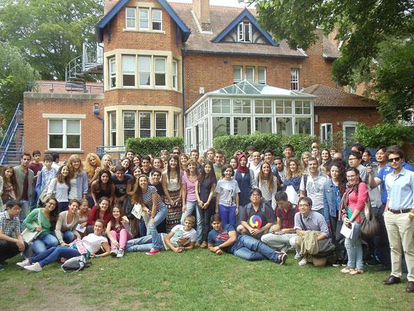языковая школа Regent Oxford в 2013 году