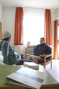 жилая комната студентов