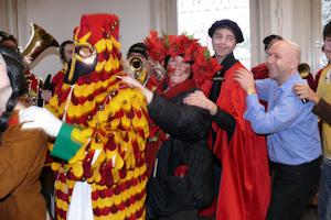 карнавал в Carl Duisberg Centren