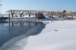 Радольфцелль зимой