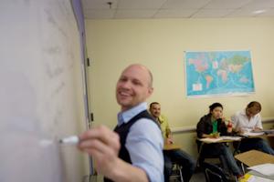 обучение взрослых в США